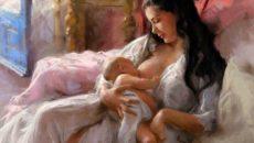 к чему снится кормить ребенка грудью