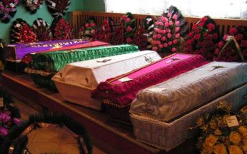 к чему снятся гробы закрытые