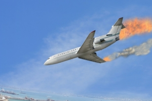 видеть во сне падающий самолет
