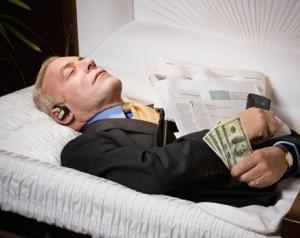 видеть во сне умершим живого человека