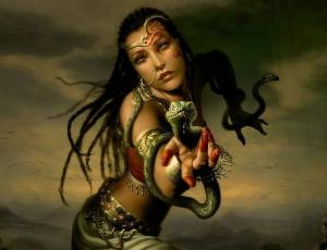 толкование снов о змеях для женщины