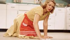к чему снится мыть полы