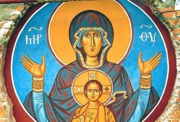 к чему снится икона божьей матери (с младенцем на руках, Богородица)